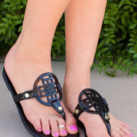 Keep Cool Sandals - Black