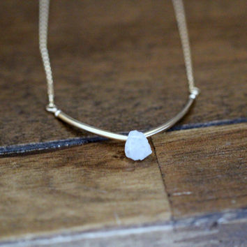Valkyrie Necklace - Moonstone