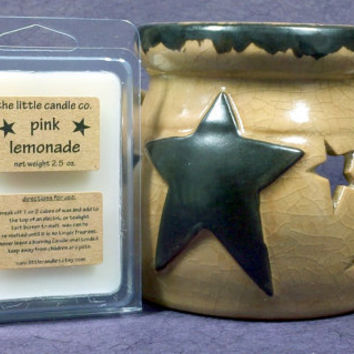 Pink Lemonade Soy Wax Melt - Hand Poured and Highly Scented Soy Wax Tart