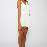 Super Love Playsuit - White