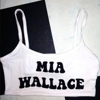 SWEET LORD O'MIGHTY! MIA WALLACE BRALET IN WHITE