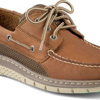 Sperry Top-Sider Billfish Ultralite 3-Eye Boat Shoe Tan/Green, Size 9M  Men's Shoes