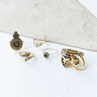 Collective Ring Set - Urban Outfitters