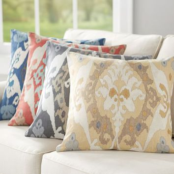 Sarina Ikat Print Pillow Cover