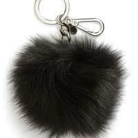 Women's MICHAEL Michael Kors 'Selma' Genuine Fox Fur Key Fob