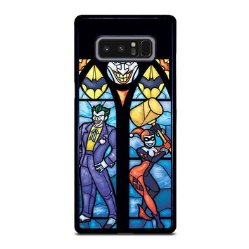 JOKER AND HARLEY QUINN ART Samsung Galaxy Note 8 Case Cover