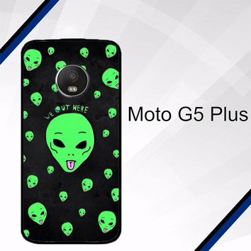 Alien We Out Here X4148 Motorola Moto G5 Plus Case