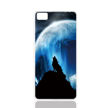 The Twilight Moive Wolf and Moon cell phone Cover Case for Iphone 4S 5 5S 5C 6 6S Plus for Samsung galaxy S3/4/5/6/7