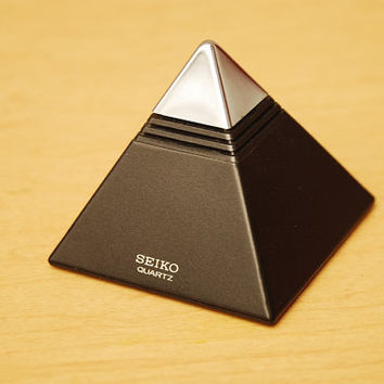 Seiko Talking Pyramid Alarm Clock from 1984