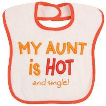 Koala Baby Feeder Bib Large (My Aunt is Hot and Single)