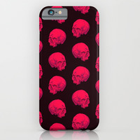Skull Pattern  iPhone & iPod Case by Heart Of Hearts Designs