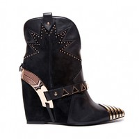 Black Revolver Boot by Ivy Kirzhner - ShopKitson.com