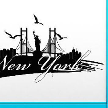 Wall Stickers Vinyl Decal New York City USA Living Room Cool Decor (z2069)