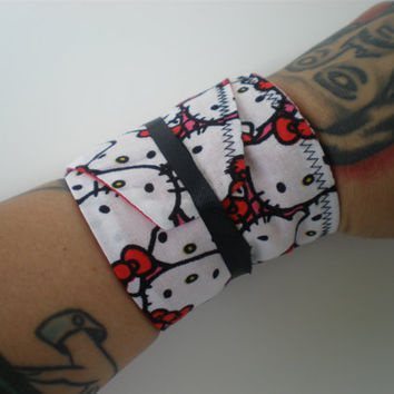 Hello Kitty Crossfit Wrist Wraps