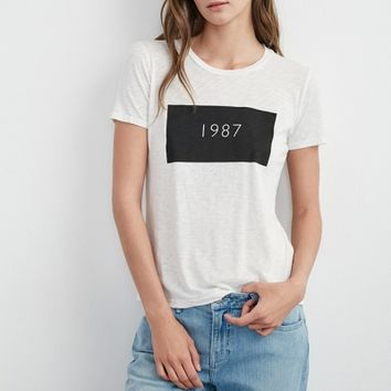 RHIANNON GRAPHIC 1987 TEE SHIRT - Women