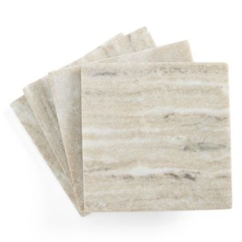 Thirstystone Set of 4 Square Marble Coasters | Nordstrom