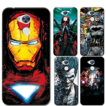 "Deadpool Dead pool Taco For Huawei Honor 6A Phone Cases Cover Charming Marvel Avengers Captain America  Coque For Huawei Honor 6A Funda Capa 5"" AT_70_6"