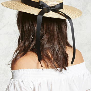 Straw Boater Hat - Women - New Arrivals - 2000084661 - Forever 21 Canada English