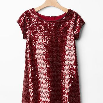 Gap Girls Sequin Shift Dress