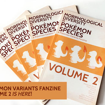 Pokemon Variants Fanzine Volume 2