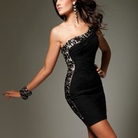 Tony Bowls Shorts Dress TS11363 at Prom Dress Shop