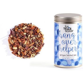Hangover Helper Tea - Herbal Ginger Loose Leaf Tea
