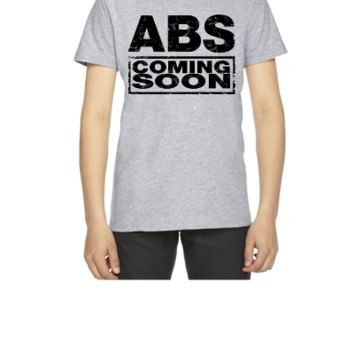 abs coming soon - Youth T-shirt