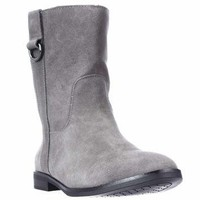 A35 Anconaa Lined Mid Calf Winter Boots, Stone, 10 US