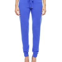 Slim Cashmere Track Pant by Juicy Couture
