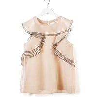 CHLOÉ RUFFLED TOP