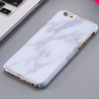 Retro White Marble Stone iPhone 5se 5s 6 6s Plus Case Cover + Nice Gift Box 267