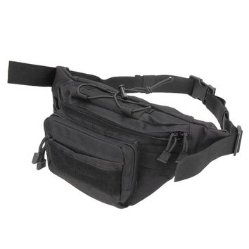 Sports gym bag Tactical bag Molle Fishing Hiking Hunting Bags  Chest body Sling Single Shoulder Outdoor Army Tactical Waist Bags KO_5_1