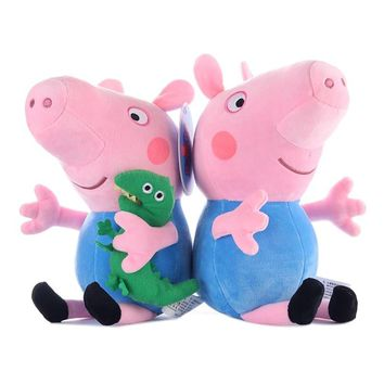 Peppa Pig Little Girl George Plush Toy 30cm Filled Doll Family Party Plush Toy Boy Girl Child Birthday Christmas Gift