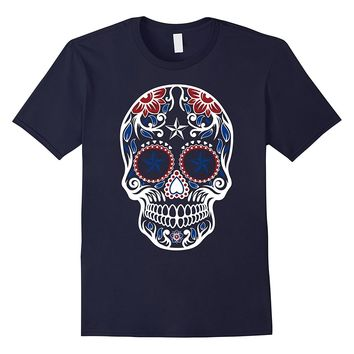 USA Sugar Skull T-shirt