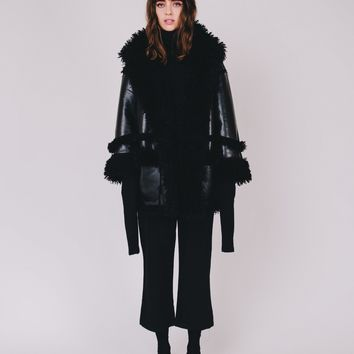 Pleasure Faux Shearling Coat