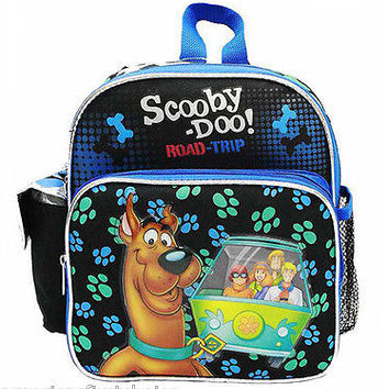"Unisex Boys Girls  Scooby Doo School 10"" Backpack Book Bag by Werner Brothers"