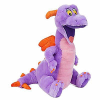 "disney parks epcot mascot 15"" figment dragon plush new with tag"