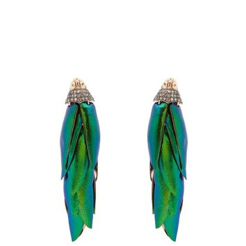 Scarab Bunch earrings | Bibi Van Der Velden | MATCHESFASHION.COM UK