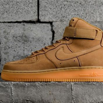 Nike Air Force 1 High Flax 882096 200 | Best Deal Online