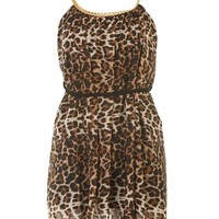 Ceaser Animal Print Chiffon Dress - Womens Clothing Sale, Womens Fashion, Cheap Clothes Online | Miss Rebel