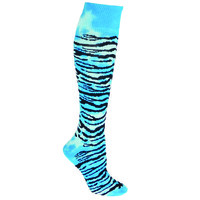 Tie Dye Tiger Stripe Socks CrossFit socks - Soccer Socks - Softball Socks - Neon Colors - Kids and Adult Sizes