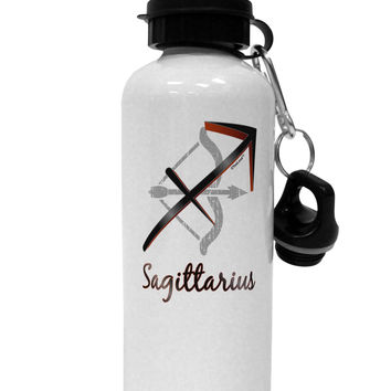 Sagittarius Symbol Aluminum 600ml Water Bottle