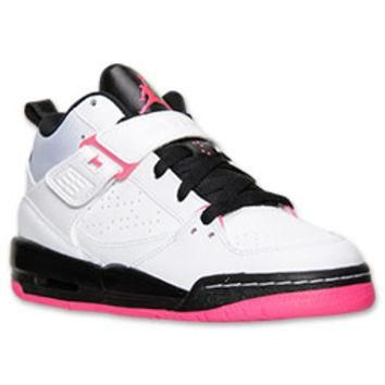 Girls' Grade School Jordan Flight 45 High Basketball Shoes