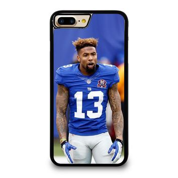 ODELL BECKHAM NY GIANTS iPhone 4/4S 5/5S/SE 5C 6/6S 7 8 Plus X Case