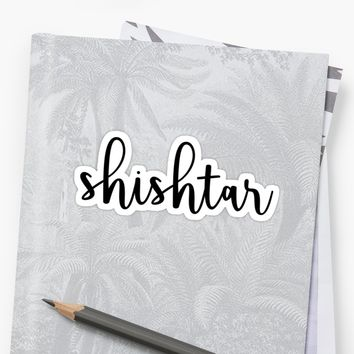 'Shishtar' Sticker by Morgan Turrentine