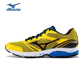 MIZUNO Men WAVE IMPETUS 3 Jogging Running Shoes Mesh Breathable Sneakers Light Weight Cushion Sport Shoes J1GR151305 XYP499