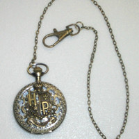 Harry Potter Inspired Pocket Watch or Watch Necklace - Your Choice