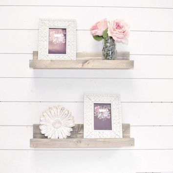 Nursery Wall Shelves On Wanelo
