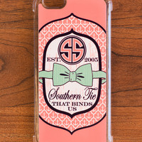 Simply Southern Pink iPhone Case