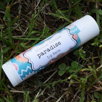 PARADISE Lip Balm - Tropical fruit flavored lip balm